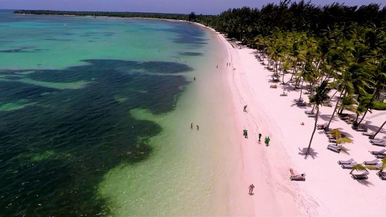 Bavaro Beach By Drone Dominican Republic Gopro Karma July 2017