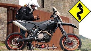 Twist the Throttle and WHEELIE | Twisty Roads - KTM 450 SUPERMOTO