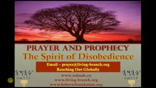 12-25-2015 Prayer and Prophecy - Ruach Spirit of Disobedience: Hebrew 10:26-27