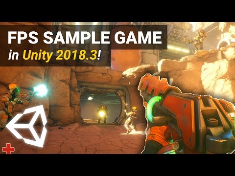 ONLINE FPS GAME CREATED BY UNITY! - Overview And Tutorial In Unity 2018.3