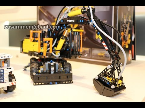 lego technic volvo ew 42053 presentation toy fair 2016. Black Bedroom Furniture Sets. Home Design Ideas
