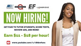 Get Paid $11-$18 To Score Tests, Teach English, Review Ads & More!