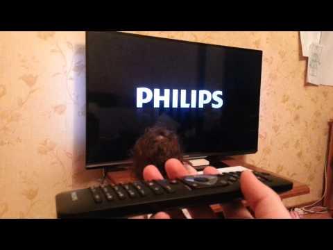 видео: Так включется philips 47 pfl 6000/t
