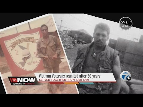 Vietnam Veterans reunited after 50 years
