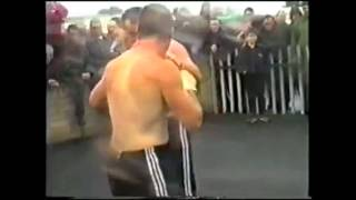 Old school traveller Bareknuckle fight!