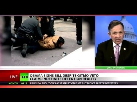 Kucinich on  NDAA: Indefinite detention part of push to shred Constitution