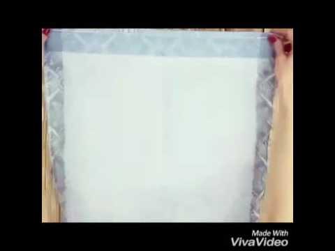 Лайфхак .Как сделать красивое украшение к столу из обычной салфетки.
