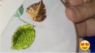 bordado ponto laçada - Free hand embroidery | Cantinho do