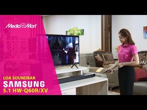 Loa soundbar Samsung HW-Q60RXV - Khuấy động mọi âm thanh