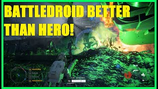 Star Wars Battlefront 2 - NEW HERO: Battledroid! | No heroes, no problem! BE THE HERO! Infantry KS!