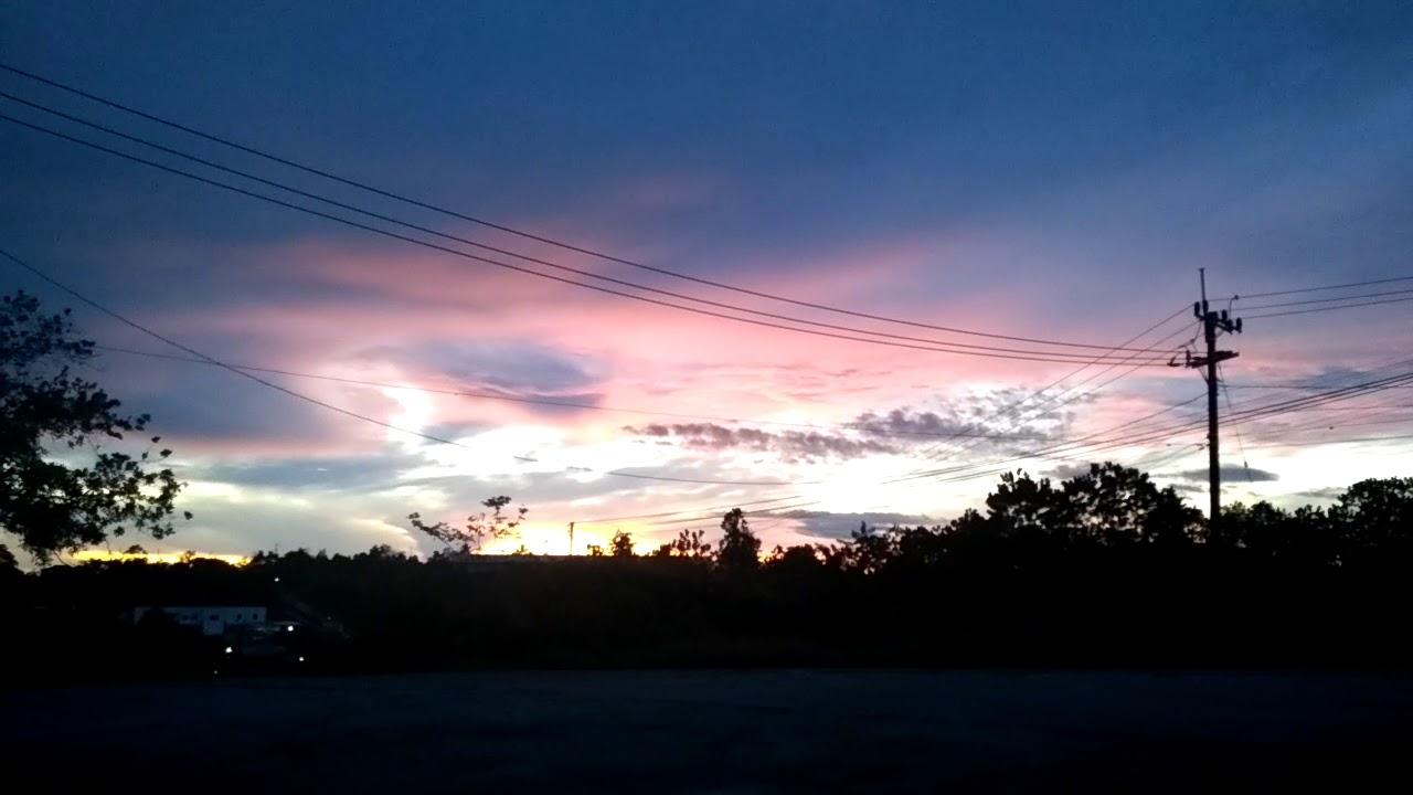 Indahnya Pemandangan Langit Pagi Hari Youtube