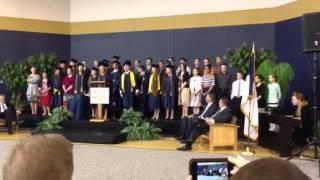 CCS choir graduation 2013