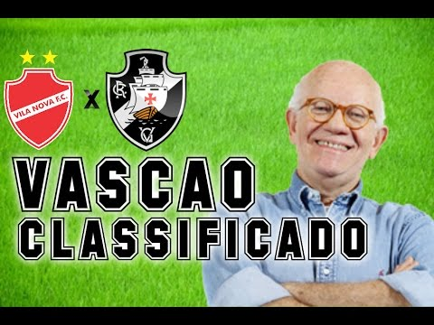Gols De Vila Nova 1 x 2 Vasco (Edson Mauro) Rádio Globo/CBN - 02/03/2017
