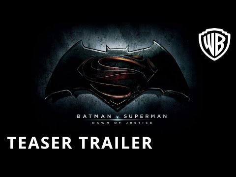 Batman v Superman: Dawn Of Justice - Teaser Trailer - Official Warner Bros. UK