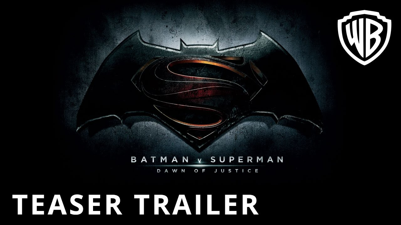 Batman V Superman Dawn Of Justice Teaser Trailer Official - First teaser trailer dawn of justice