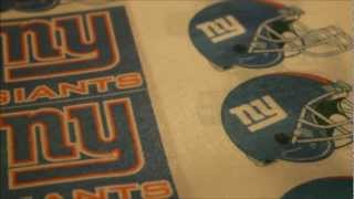 Edible Print the NY Giants Football Team in Photoshop [2 of 2]