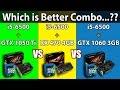 RX 470 vs GTX 1060 3G vs GTX 1050 Ti | Intel i5-6500 | DX11 and DX12 Comparison