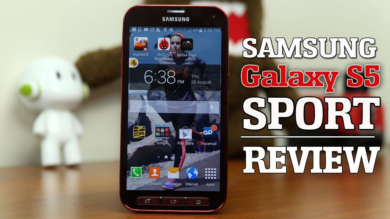 Samsung Galaxy S5 Sport Review - YouTube