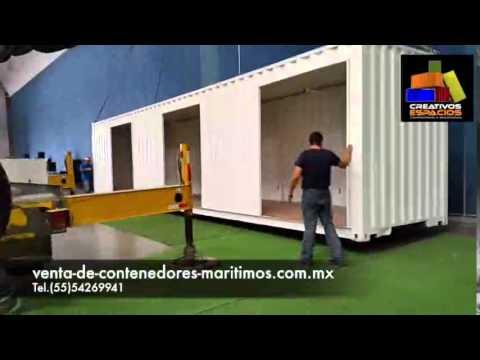 Venta de contenedores maritimos youtube for Arquitectura contenedores maritimos