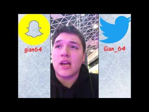 Gian's 2016 Ice Skating Snapchat Bananza