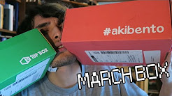 SWEET GAMING & ANIME MERCH, YO!! | Akibento + 1UpBox March 2016: Double Unboxing