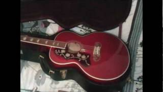 Review Gibson SJ200 left handed French