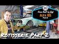 Rotisserie part 2 - Alfa Romeo 105 project car build part 6