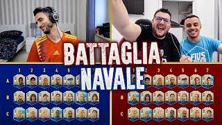 BATTAGLIA NAVALE con solo ICONE! INDOVINA IL CALCIATORE CHALLENGE w/FIUS GAMER e TONY TUBO