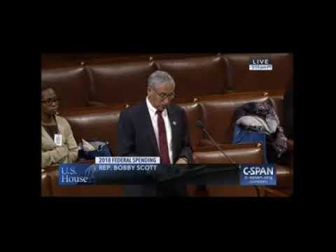 Ranking Member Scott Urges the Adoption of Amendment on Youth Employment Funding