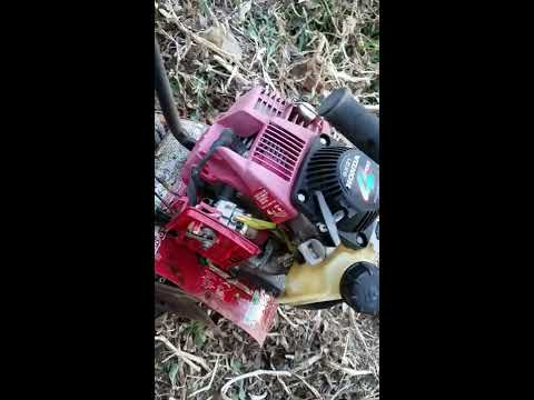 how to fix flooded 2 stroke small engine