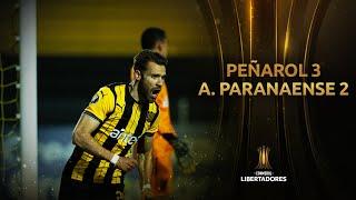 Peñarol vs. A. Paranaense [3-2] | RESUMEN | Fase de Grupos | CONMEBOL Libertadores