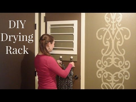 DIY Clothes Drying Rack
