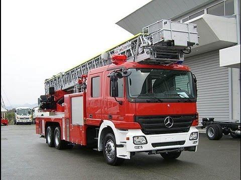 japanese fire truck youtube