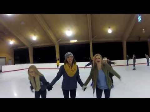Gamma Phi Beta UNL - Ice Skating 2014