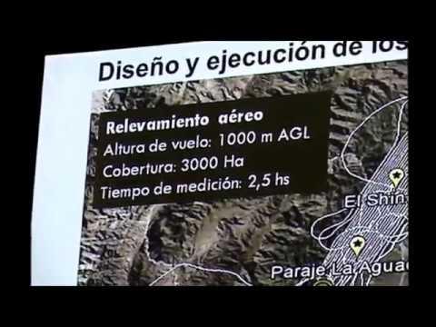 LIDAR - ARQUEOLOGÍA - EL SHINCAL - GEODATA 2017