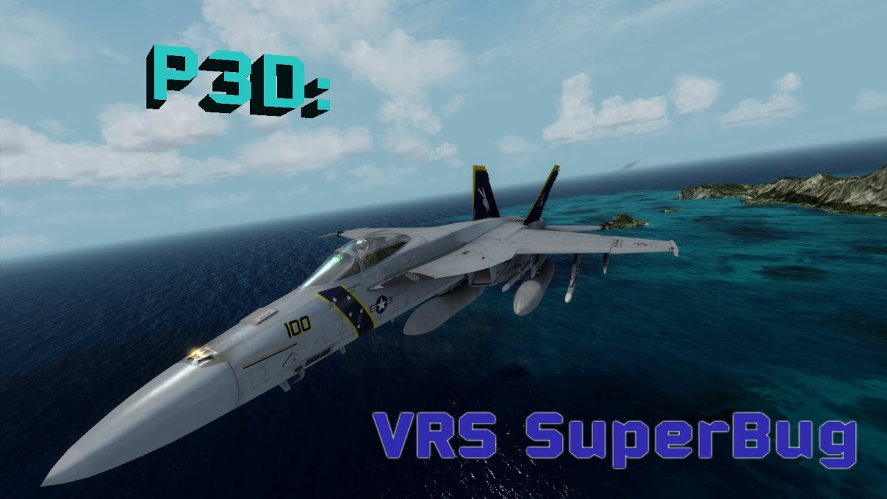 P3D VRS Superbug and TacPack