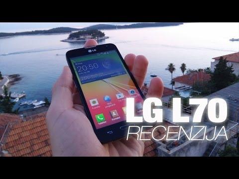 LG L70 Video Recenzija