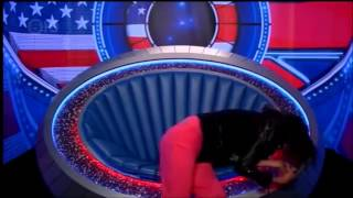 #CBB 2015 - Janice Dickinson Gets Stung By A Bee