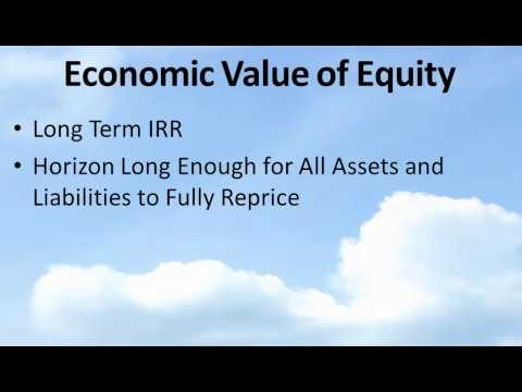 Bank Training Program: Economic Value Of Equity