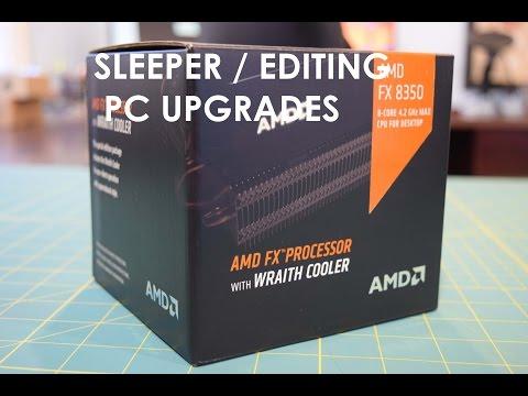 AMD FX-8350 Wraith Cooler Sleeper / Editing PC Upgrade