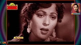 ZUBAIDA Khanum Film~JATTI~{1958}~Meri Chunni Diyan Reshmi Tandan~[ *HD Audio & Video *]*[*TRIBUTE*]