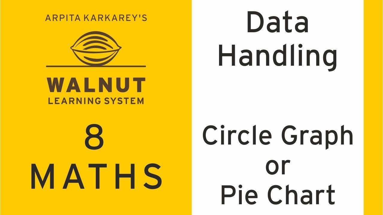8 Math Data Handling Circle Graph Or Pie Chart Youtube