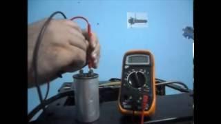 Teste de capacitor
