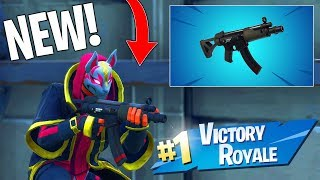 NEW Fortnite SUBMACHINE GUN GAMEPLAY! - NEW SMG in Fortnite: Battle Royale! (Fortnite Update)