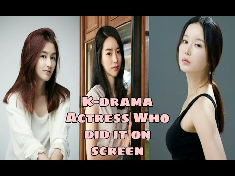"5 Korean Actress Who ""Dit It"" On Screen!"