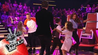 Luca, Kylan & Jools - 'En Dans' | The Battles | The Voice Kids | VTM