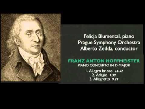 Franz Anton Hoffmeister concierto para piano