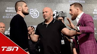 Best of McGregor vs. Khabib Press Conference