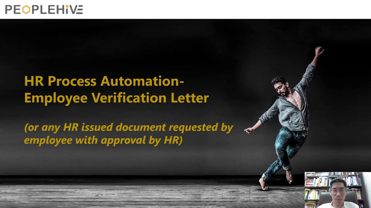 HR Process Automation - How to Automate Employee Verification Letter within 30 minutes!