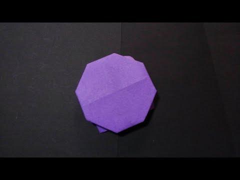 Origami - How to Make an ufo 折り紙 ufoの折り方youtube@@tv
